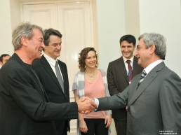 Awarded the Order of Honour by the President of Armenia